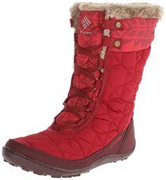 Columbia Women's Minx Mid II Omni-Heat Print Winter Boot,Red Dahlia/Oxford Tan,10 M US Columbia http://www.amazon.com/dp/B00GW8HMQE/ref=cm_sw_r_pi_dp_jdJvub01YS28G