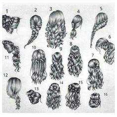 Beautiful hair style drawings – # hair style # Beautiful # drawings For other models, … Hair Hacks, Hair Tips, Hair Ideas, Girl Hair Drawing, Drawing Hair Tutorial, Hair Sketch, Pinterest Hair, Pinterest Blog, Hair Reference