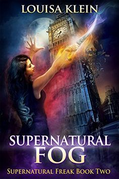 Supernatural Fog by Louisa Klein | reading, books, books covers, cover love, big ben