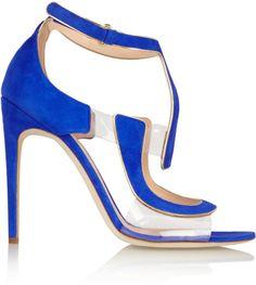 Antonio Berardi + Rupert Sanderson Redondo suede and PVC sandals on shopstyle.co.uk