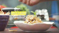 ENSALADA DE GARBANZOS | Chef Oropeza