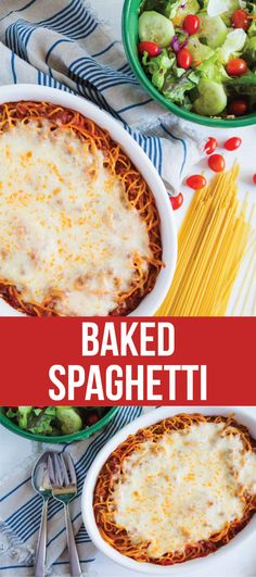 spaghetti recipes Simple but delicious baked spaghetti recipe, a meal that the whole family loves. Baked Spaghetti tastes so good and is a quick one to whip up! Spagetti Bake Recipe, Easy Baked Spaghetti, Wedding On A Budget, Basic Food Groups, Baking Soda And Lemon, Ground Beef Casserole, Pasta Dishes, Food Dishes, Main Dishes