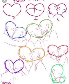 Anime tapete Beautiful Picture end result for a way to attract kisses Beautiful Art Tutorial Anime Art tutorial kiss attract beautiful kisses kissingposes picture result tapete Drawing Tutorials, Drawing Tips, Art Tutorials, Drawing Ideas, Anime Poses Reference, Figure Drawing Reference, Kissing Reference, Human Figure Drawing, Drawing Base