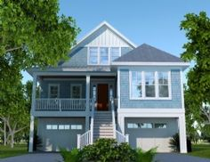 Exterior House Colors On Pinterest Light Blue Houses