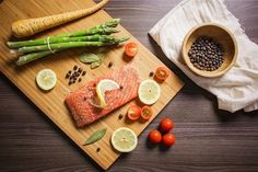 Salmon is an amazing food to put on your list for muscle building!