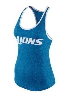 Nike Women s Detroit Lions Racerback Tank Men - Sports Fan Shop By Lids -  Macy s de05c97e8