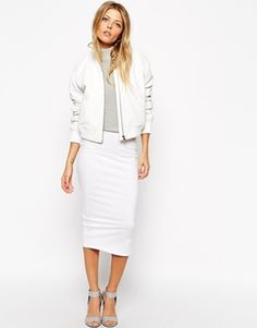 Pencil Skirt in Jersey