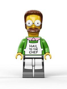 Les photos officielles des figurines Lego des Simpsons #jouets #legos