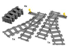 Switch tracks – build a bigger, more exciting railway track.