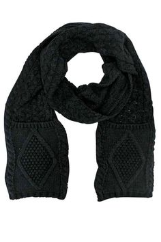 Find Classic Knit Unisex Winter Scarf With Pockets online. Shop the latest collection of Classic Knit Unisex Winter Scarf With Pockets from the popular stores - all in one Scarf Hat, Cashmere Scarf, Scarf Styles, Womens Scarves, Cold Weather, Winter Outfits, Unisex, Shopping, Clothes
