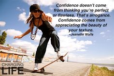 Confidence....