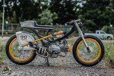 Classic # RACER # CUB 110 / Ranger korat Custom Moped, Custom Bikes, Honda Motorcycles, Vintage Motorcycles, Honda S90, Vincent Motorcycle, Pit Bike, Black Jaguar, Motorcycle Design
