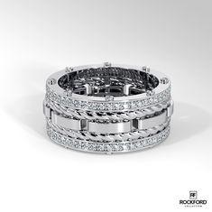 8fa658ac7 191 Best Designer Men's Wedding Bands images in 2019 | Halo rings ...