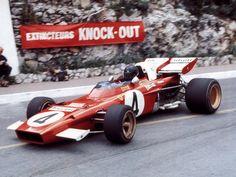 Jacky Ickx, Ferrari 312 B2, 1971 Monaco GP