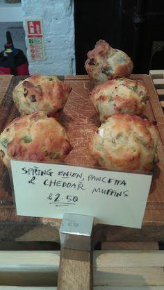Spring onion + Pancetta + Cheddar Savoury Muffins