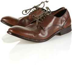 Hudson Dylan Brown Round Toe Shoes on shopstyle.co.uk