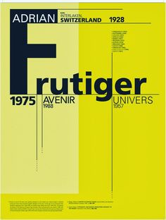 1975 Frutiger