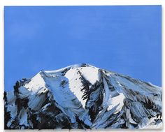 Sweeping mountain paintings by Conrad Jon Godly - Artists Inspire Artists