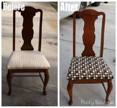 How to Reupholster Chair Seats