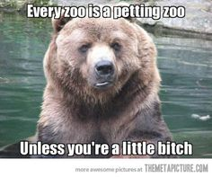 Every zoo is a petting zoo...