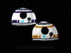 BB-8 Beanie Sci-Fi Crochet Hat R2D2 Star Wars by ChucksForChancho