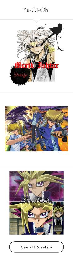 """""""Yu-Gi-Oh!"""" by morgan-acuna ❤ liked on Polyvore featuring art, interior, interiors, interior design, home, home decor and interior decorating"""