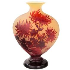 French Art Nouveau Chrysanthemum