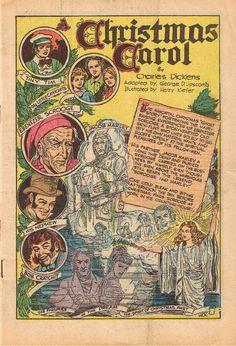 A Christmas Carol by Charles Dickens, 1915 | A Vintage Christmas ...
