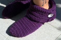 Come realizzare delle calze all'uncinetto