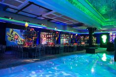 Graffiti Theme Bar Mitzvah Party Ideas & Decorations {Cristina Calvi Photography, Gala Event and Food Artistry NY} - mazelmoments.com