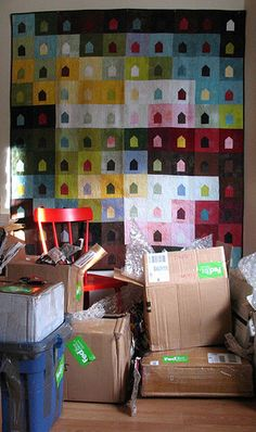 House's House Quilt   Flickr - Photo Sharing!
