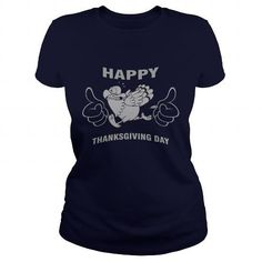 Awesome Tee Happy Thanksgiving Day T shirts