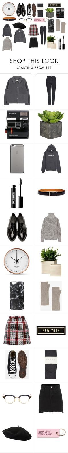 """""""Dame"""" by sherazadine on Polyvore featuring mode, Topshop, Polaroid, Native Union, Ardency Inn, Magnanni, Burberry, Theory, Georg Jensen et Casetify"""