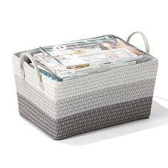 Homemaker Striped Storage Basket | Kmart $14