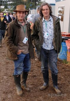 My two favourite boys Richard Hammond and James May