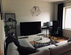 Home Decor Ideas - Initial appartment. Tips appreciated 🙂 ~ wonderful On Apartment Interior, Apartment Design, Apartment Living, Male Apartment, Studio Apartment, Apartment Ideas, Home Room Design, Living Room Designs, Living Spaces