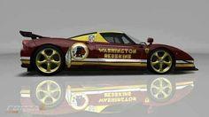 Beautiful Washington Redskins car!!!! I want one!