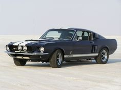 Authentic 1967 Shelby GT500,