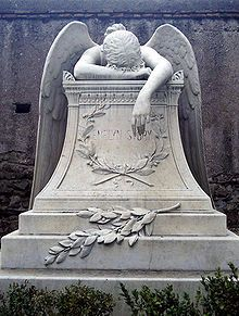WWStoryRome - Angel of Grief - Wikipedia, there is a copy in disrepair in Hingham, Ma. So beautiful.
