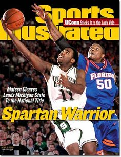 Mateen Cleaves, Michigan State Spartans, Sports Illustrated, 2000