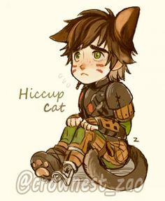 Hiccup cat !