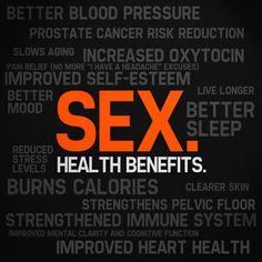 #healthbenefits of #sex