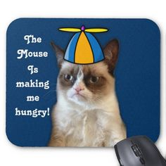 Mean Cat Mousepad