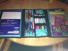 Timeless Beauty Bag for art supplies