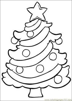 free printable coloring image Christmas 174