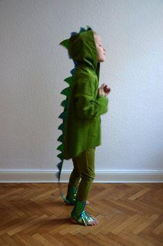 Kostüme & Verkleidung - Drachen 2-3 Jahre, Dinosaurier, Dinokostuem, K... - ein Designerstück von maii-berlin bei DaWanda