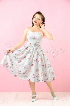 50s Macaroon Tea Dress!