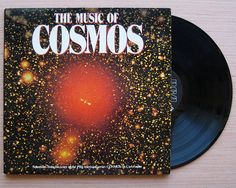 The Music Of Cosmos Vinyl Record LP, Gatefold Cover, Selections from the TV series by Carl Sagan Vangelis Bach