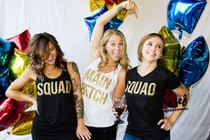 Bachelorette Party Shirts (completely customizable!)