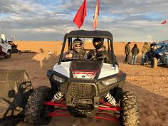 Brian and I in his RZR 1000 before an awesome Glamis ride